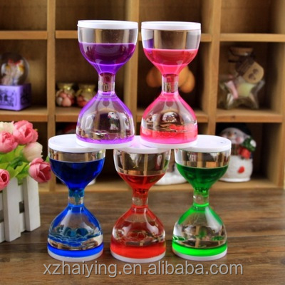 Mini Hourglass Liquid Motion Timers oil drop timers for children