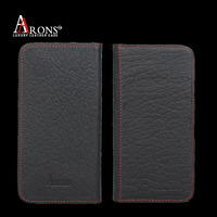 Uninversal genuine leather phone case for samsung s6 cover