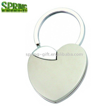 zinc alloy picture metal keyring /photo frame key ring