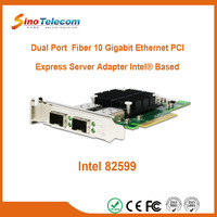 Sino-Telecom 2 Port Optical 10G Converged Server Adapter Intel Based