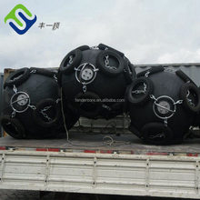 Supplied as sling type and CW type floating Rubber Pneumatic Fender