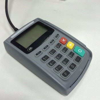 PCI/EMV Handheld E-Payment Pinpad Works with PC/ECR/PDA or POS