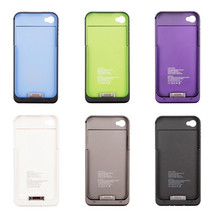 unique products from china Power Bank Charger Case Portable External Battery Cover For Iphone 4 4s