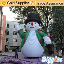 Big Outdoor Inflatable Snowman for Christmas Decoration