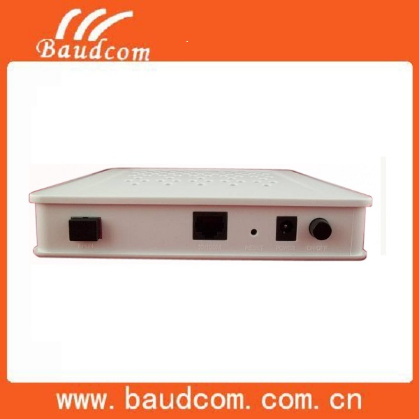 One PON and One Fast Ethernet GEPON ONU optical network terminal