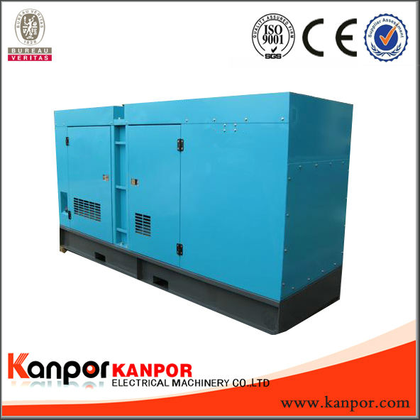 KANPOR With Deutz 80kw/100kva soundproof diesel genset best quality with CE,BV,ISO9001