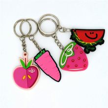 Top fashion good quality custom pvc keychain/key chain for wholesale