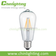 Hot LED for 2014 ST58 E27 2W Dimmable LED filament Bulb China Supplier