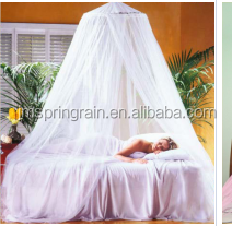 Sleepwell White circular Hook concise Mosquito Net for queen Bed
