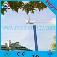 500watts wind turbine spur gear for Home Use with CE Certification