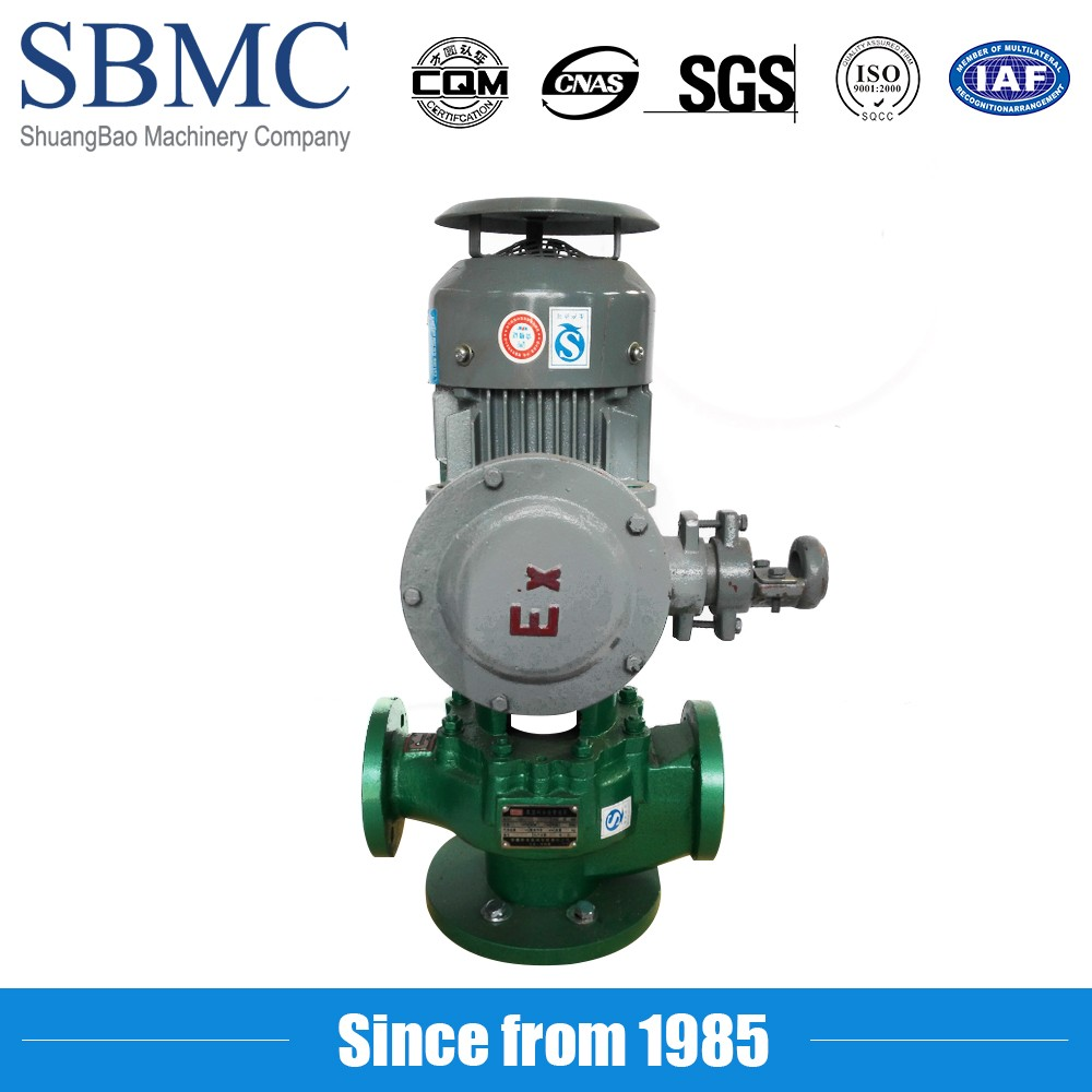 Salt solution pipe water inline pump for papermaking