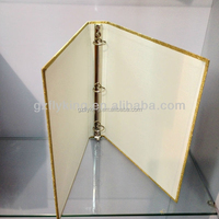 High End Customize color PU Cover 3 Ring Binder Planner