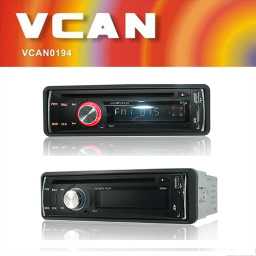 VCAN0877 MP3/CD/CD-RW compatible am/fm radio receiver (AM Optional) colour LCD Digital Display