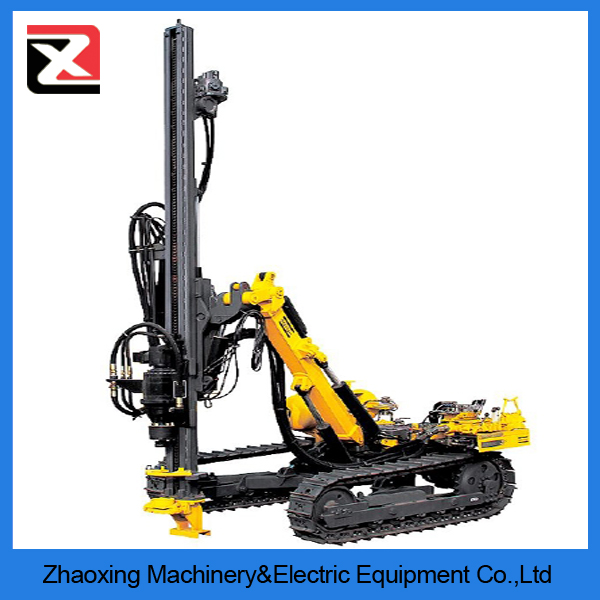 cheap 300m crawler portable horizontal wood drilling machine