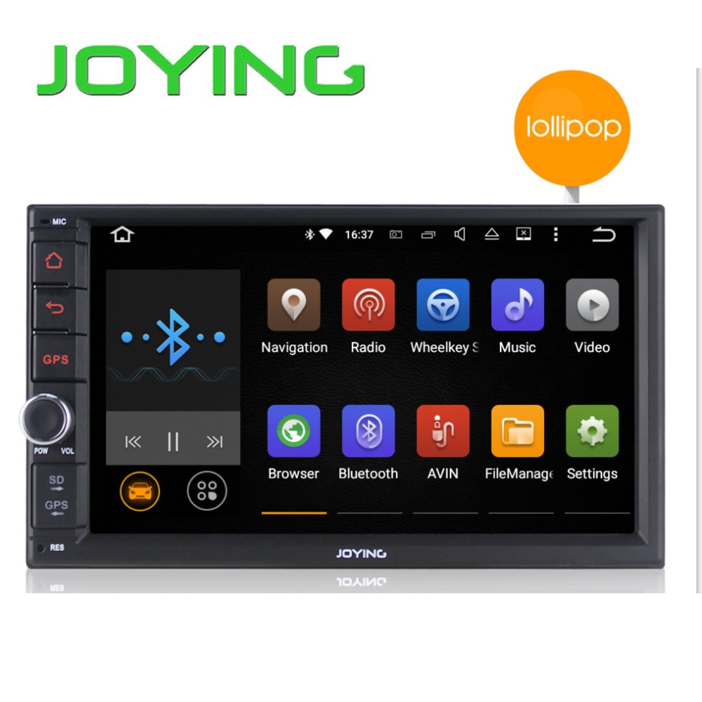 Android 5.1.1 car dvd/cd player car stereo 7 inch quad core 1024*600 2 din lcd screen car radio