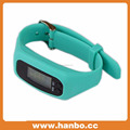 Cheap Silicon wristband Watch Pedometer for sports