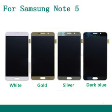 100% test good working Original For Samsung Galaxy Note5 N920a N920t N920p LCD Display Touch screen Digitizer