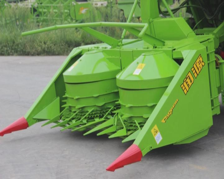 4QZ-2200 corn silage combine harvester made in china