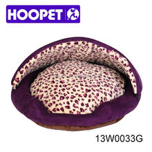 Hamburger kennel with removable cover dog cave beds