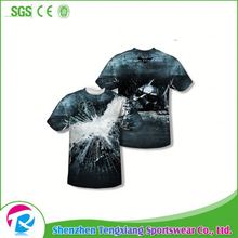 Porfessional Custom Black T Shirt Made In China