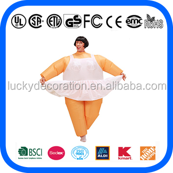Hot Sale inflatable costume Ballet costume