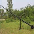 Professional 8m 3-axis Portable Video Camera Triangle Jimmy Jib Crane