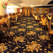 blue PP carpet hotel banquet hall carpet wilton in stock carpet