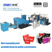 ZD-F450Q fully automatic machine to make shopping paper bags with handles