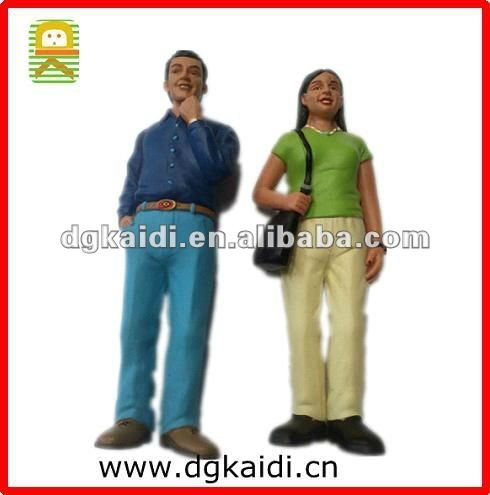 India family couples human action figure