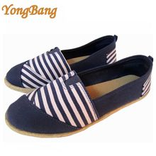 Beatiful elegant low price women canvas shoes