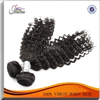 Hair Extension Type High Quality 100% Human Bundles Peruvian Virgin Hair