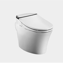china colored one piece modern toilet bowl