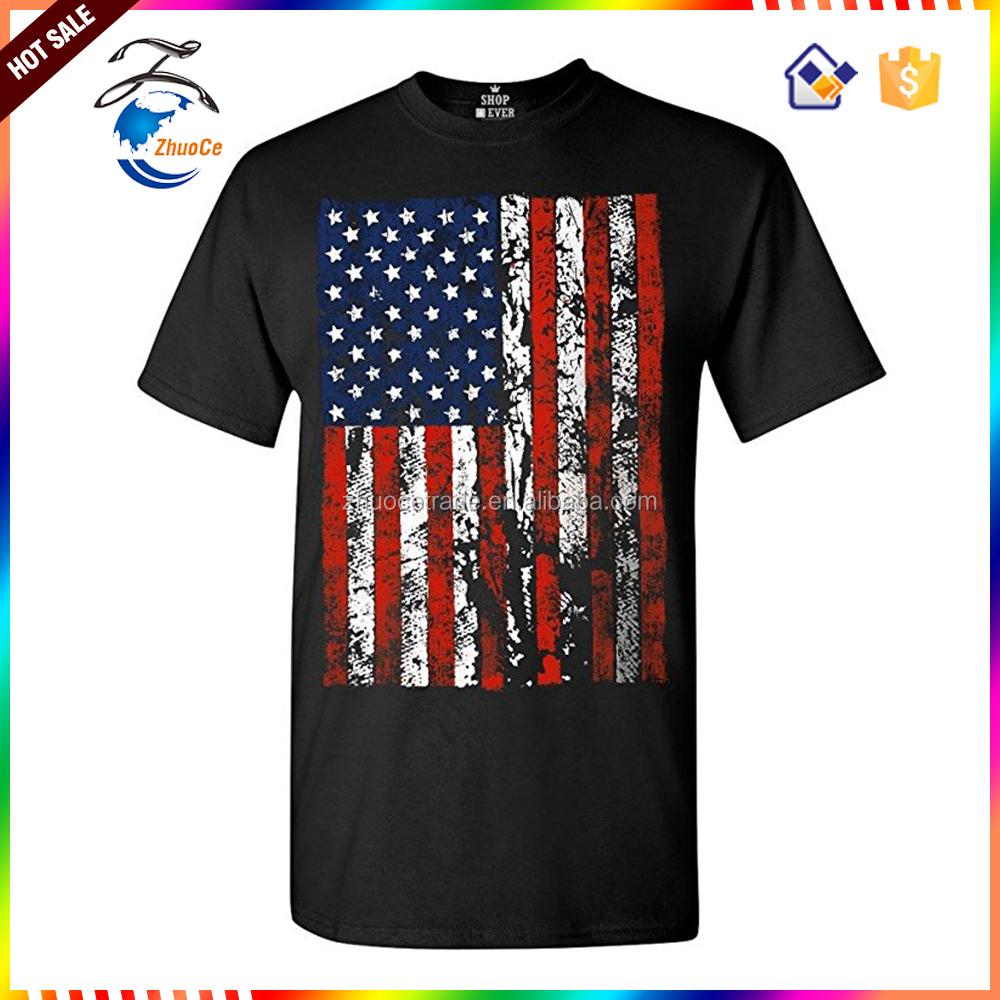 Майка расцветки американского флага