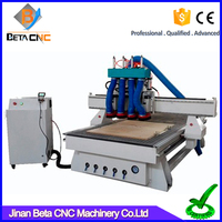 China suppliers cheap 3d woodworking cnc carving router, wood cnc machine with simple auto tools changer