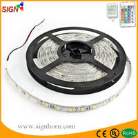 Discounted 10% 12V 300 leds waterproof pi65 5m RGB/single color flexible lpd8806 led strip