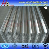 Rich stock DX51D galvanized metal roofing materials