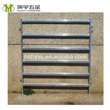 Wholesale livestock metal fence panels/portable fence panels