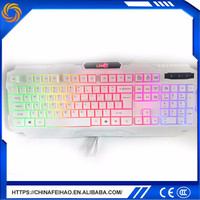 Top quality computer white bluetooth keyboard and mouse combo