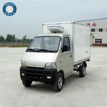 Lighten gasoline Ice box refrigerated trucks price