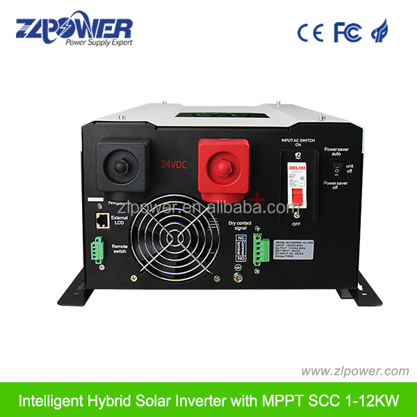 Hybrid solar off grid inverter 8000W inverter with MPPT controller