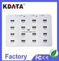 Wholesale Promotion USB 2.0 16 Port HUB Driver With LED Each Port Full Speed 480Mbps
