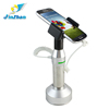 2015 new design free rotating cell phone security display holder with alarm, suport celular with mobile security sensor cable