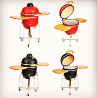 Commercial stainless steel smoke free bbq grill