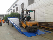 LSD1045 type capacity dynamic load 6T Yard Ramp / truck ramp