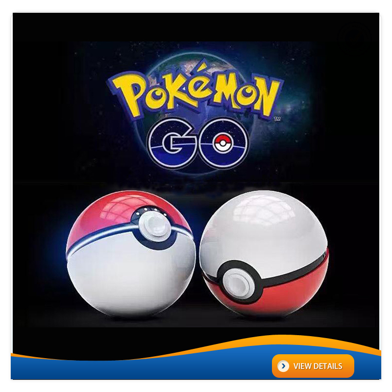 AWC600 2016 New design 12000mah hot gift poke ball charger pokemon powerbank 10000mah