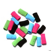 Colorful Finger Bands Brace Support Sleeve Band Sports Volleyball Basketball