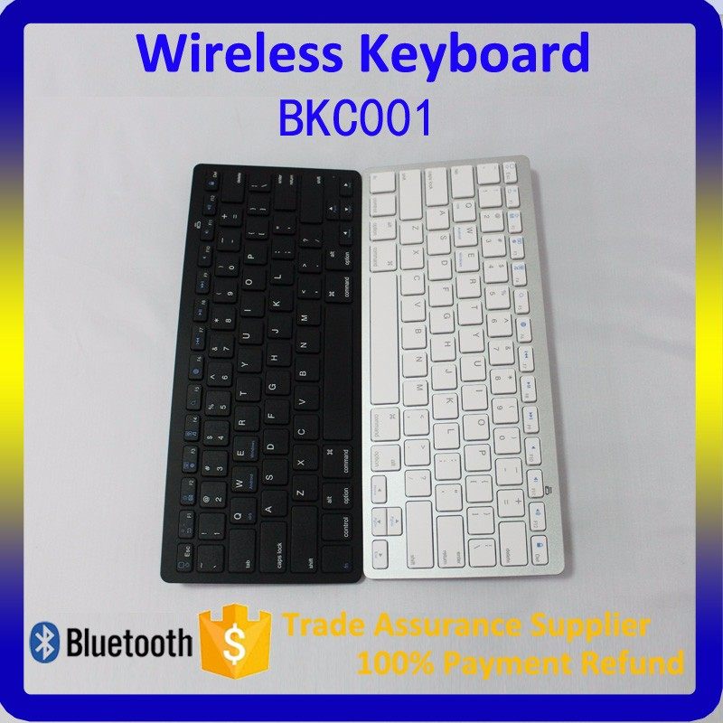 Portable Wireless Bluetooth Slim Keyboard for Android Windows iOS Tablet PC Laptop