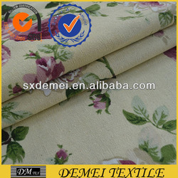 fabric table prints poly cotton canvas manufacturer