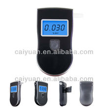 Personal portable alcohol breath tester with mouthpiece