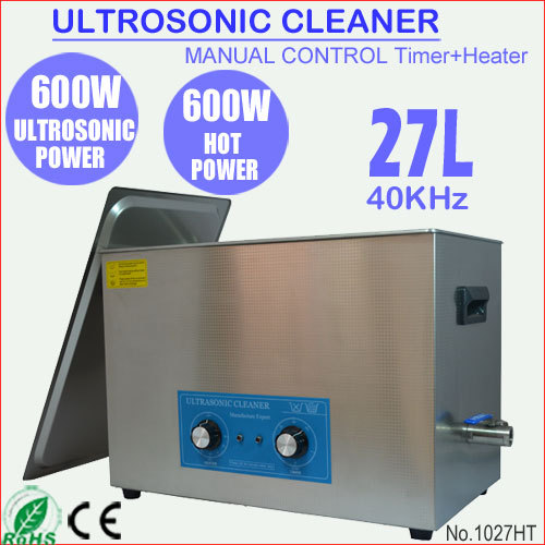 1027HT 30L Benchtop Ultrasonic Carburetor Cleaning Machine for Auto Parts